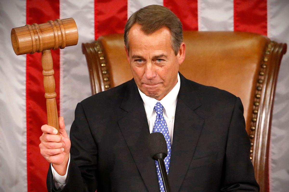 John Boehner                                                         (Reuters/Kevin Lamarque)