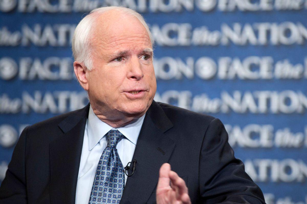 John McCain             (AP/Chris Usher)