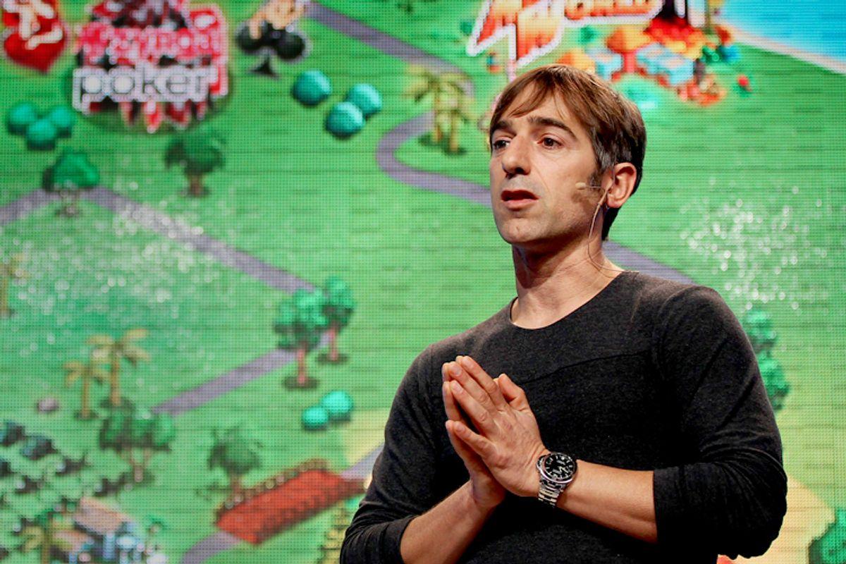 Zynga CEO Mark Pincus    (Reuters/Stephen Lam)