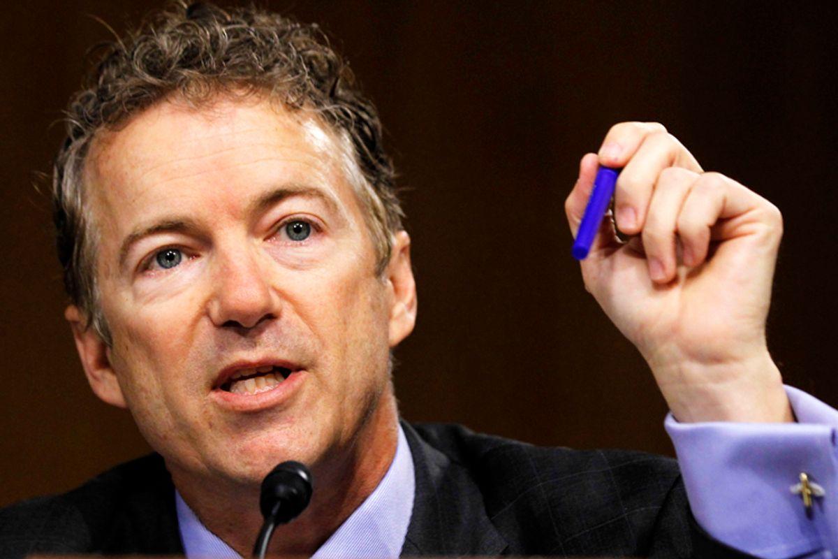 Sen. Rand Paul, R-Ky.                       (Reuters/Jason Reed)