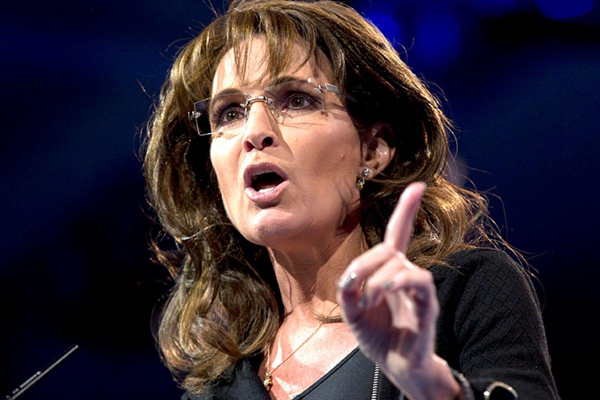 Sarah Palin                                     (AP/Carolyn Kaster)