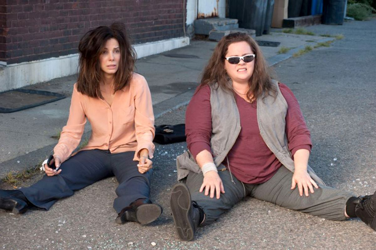 "Sandra Bullock and Melissa McCarthy in ""The Heat."""
