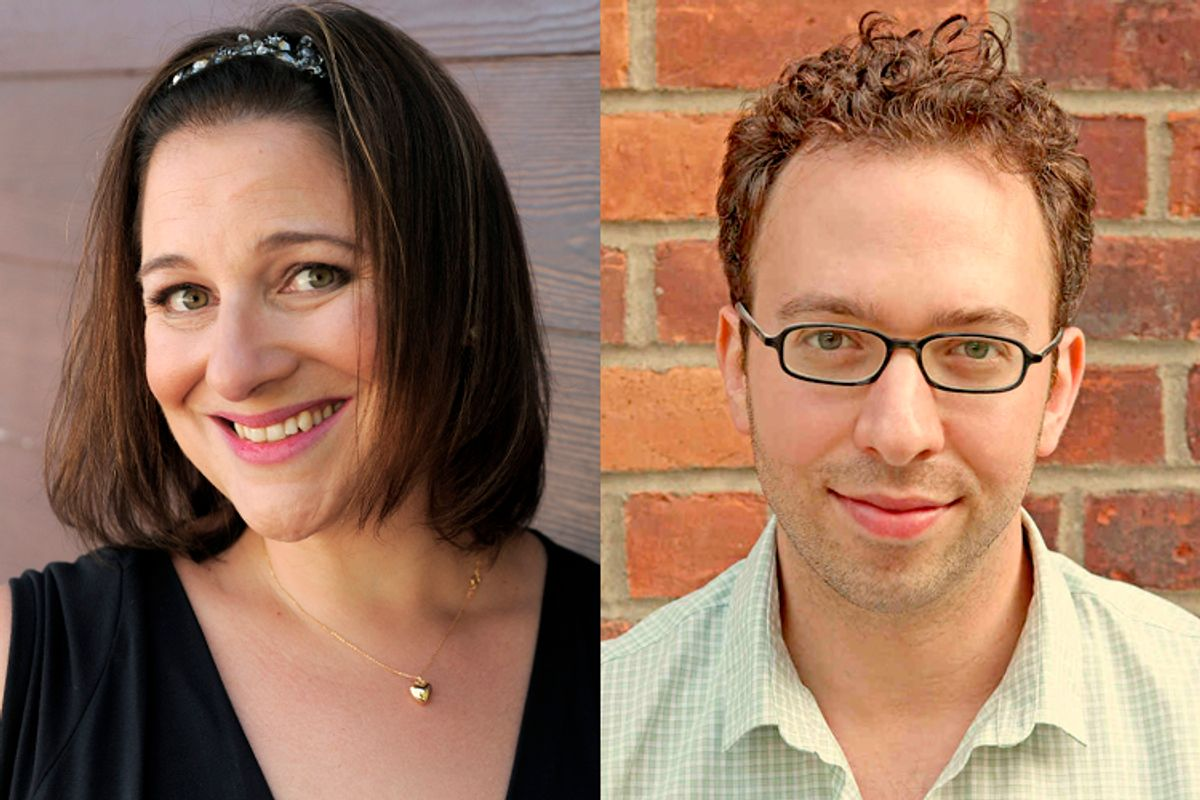Jennifer Weiner, Teddy Wayne   (AP/Chris Pizzello/Christine Mladic)