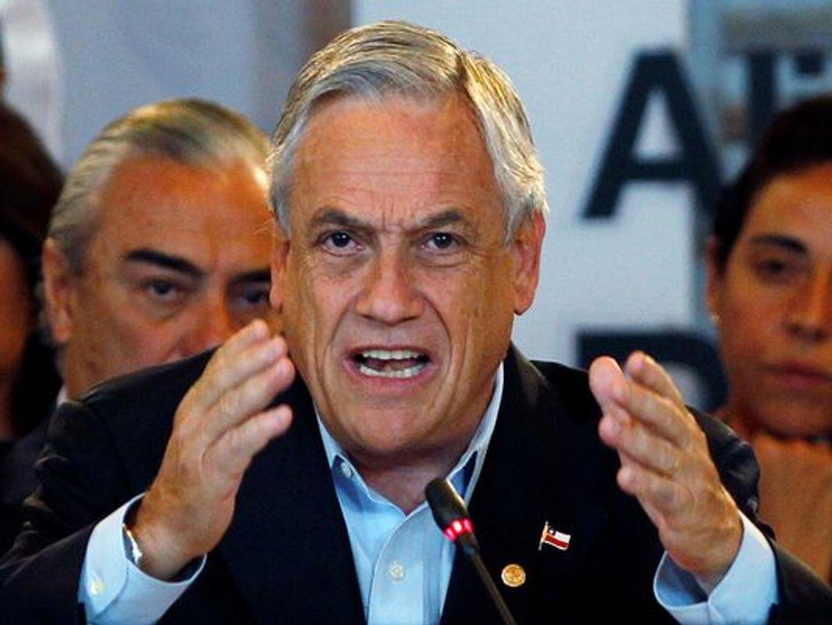 Chilean President Sebastián Piñera  (Fernando Vergara, AP)