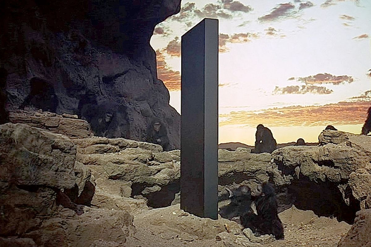 Mysterious monolith found in Romania after similar one disappears from Utah
