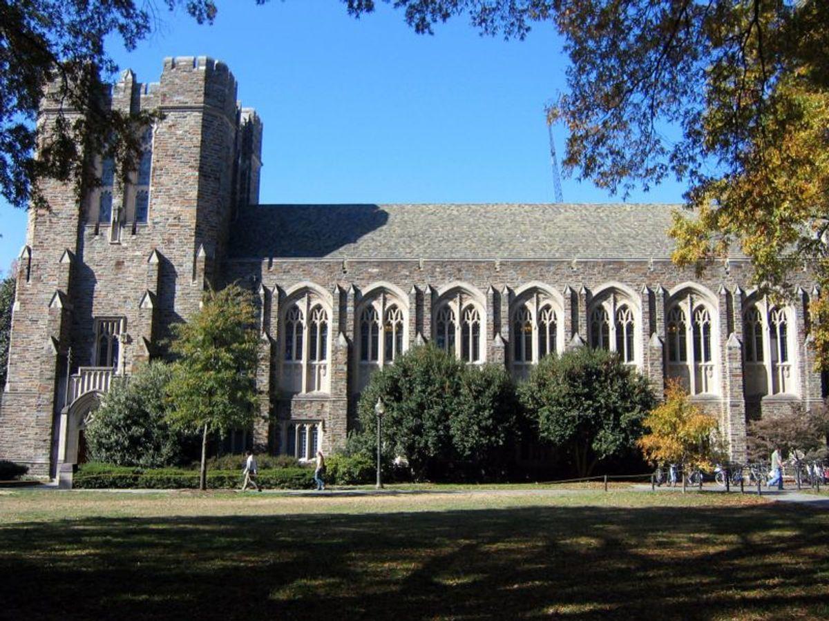 Duke University        (Wikimedia Commons)