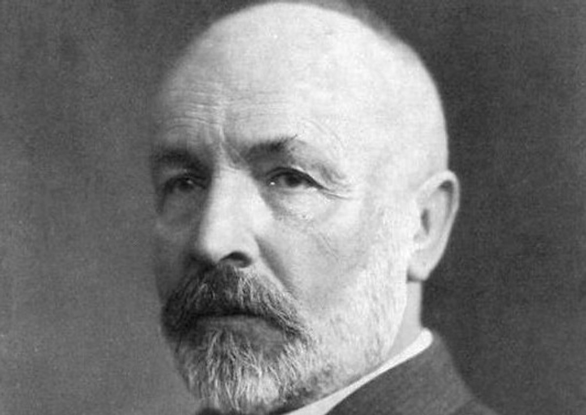 Georg Cantor                   (Wikimedia Commons)