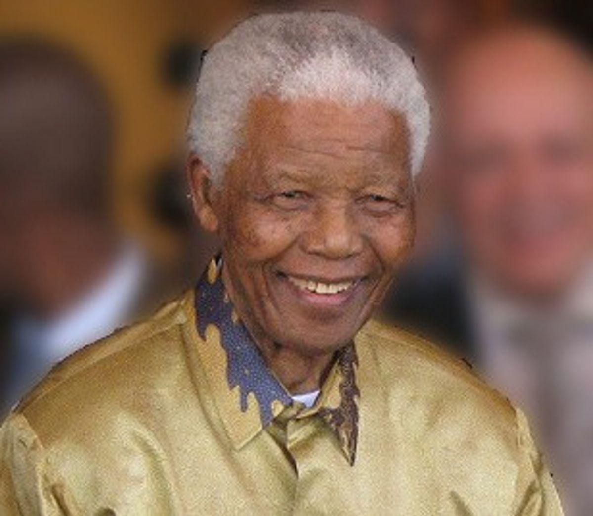 Nelson Mandela in 2008          (Wikimedia)