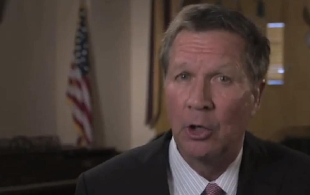 Ohio Gov. John Kasich    (YouTube)