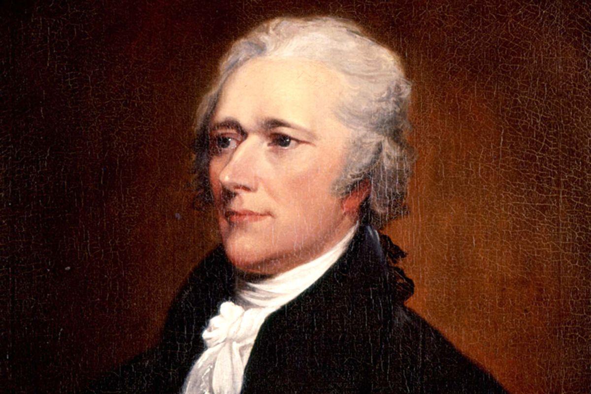 Alexander Hamilton         (WikiMedia)