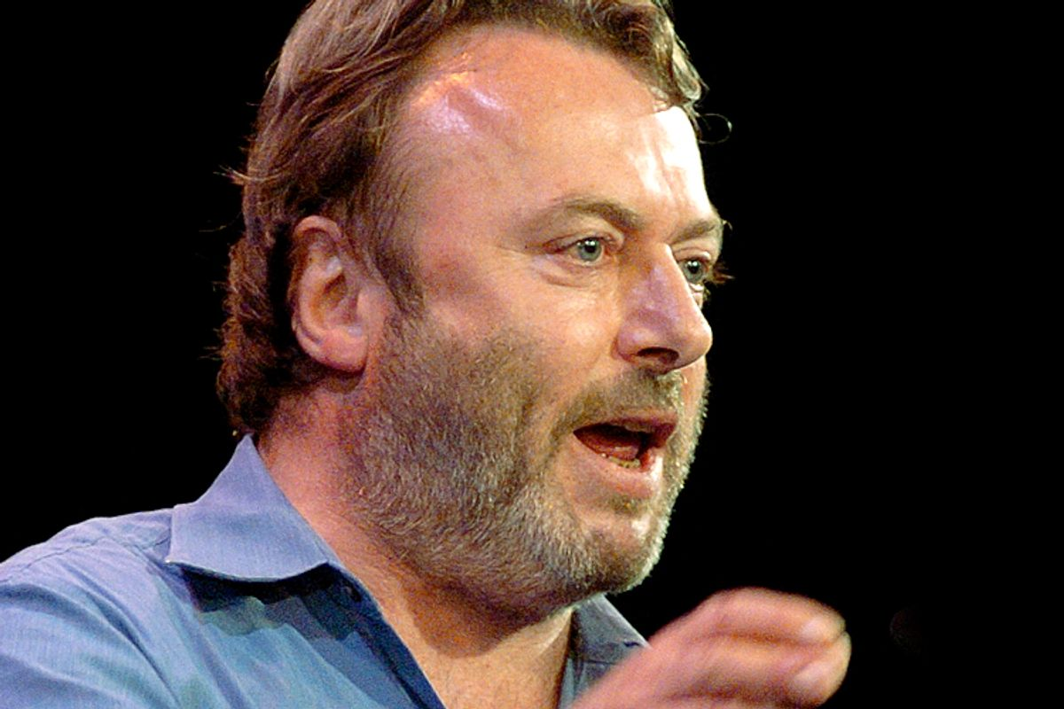 Christopher Hitchens                     (AP/Chad Rachman)