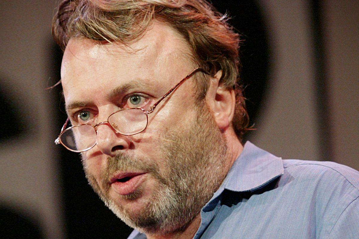 Christopher Hitchens                    (Reuters/Shannon Stapleton)