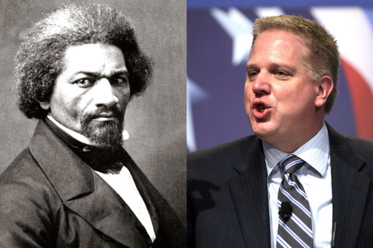 Frederick Douglass, Glenn Beck    (New York Historical Society/AP/Jose Luis Magana)