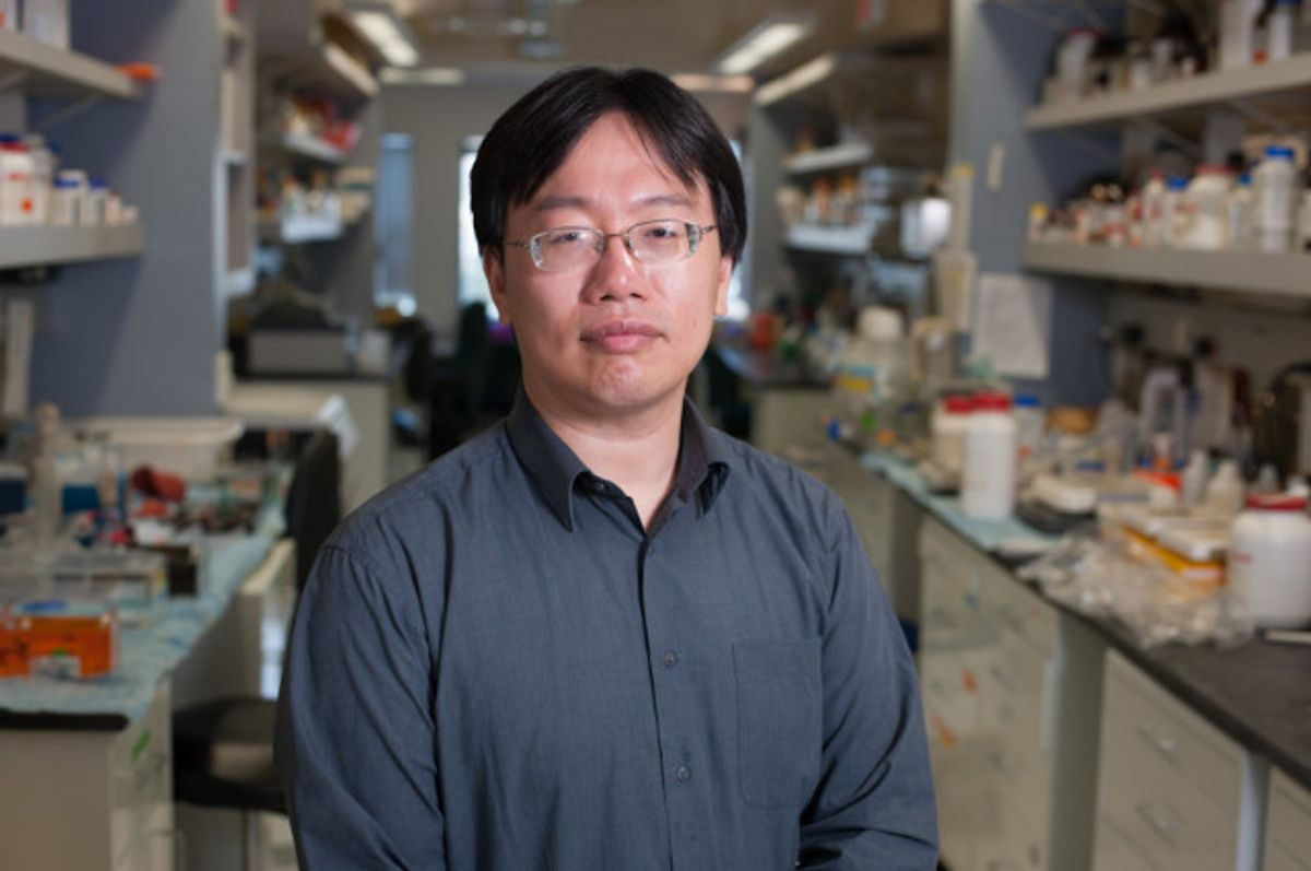 Jimmy Lin, founder and president of the Rare Genomics Institute          (Tim Barker)