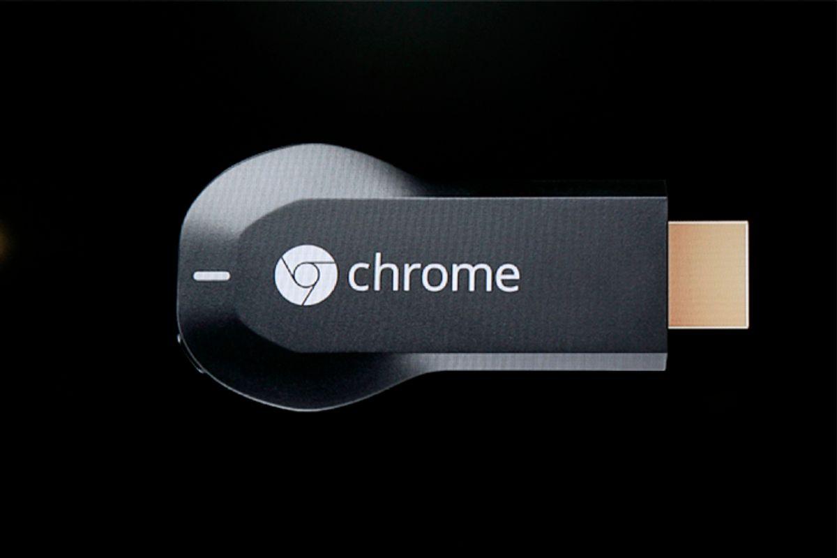 Google Chromecast dongle             (Reuters/Beck Diefenbach)
