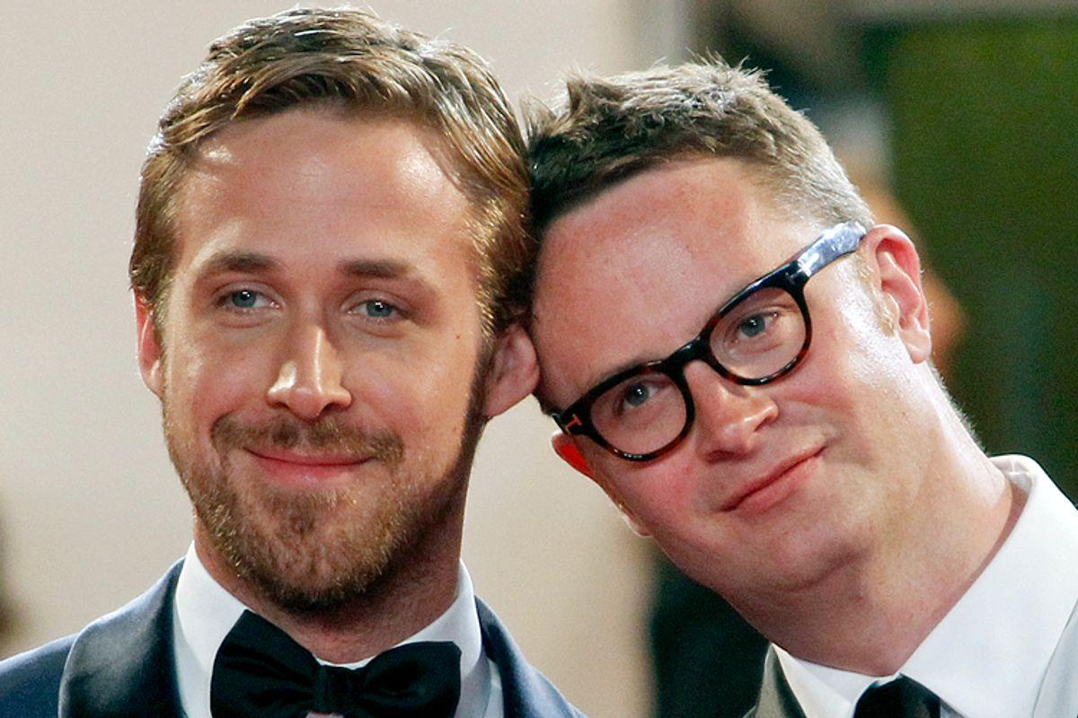 Ryan Gosling, Nicolas Winding Refn     (Reuters/Jean-Paul Pelissier)