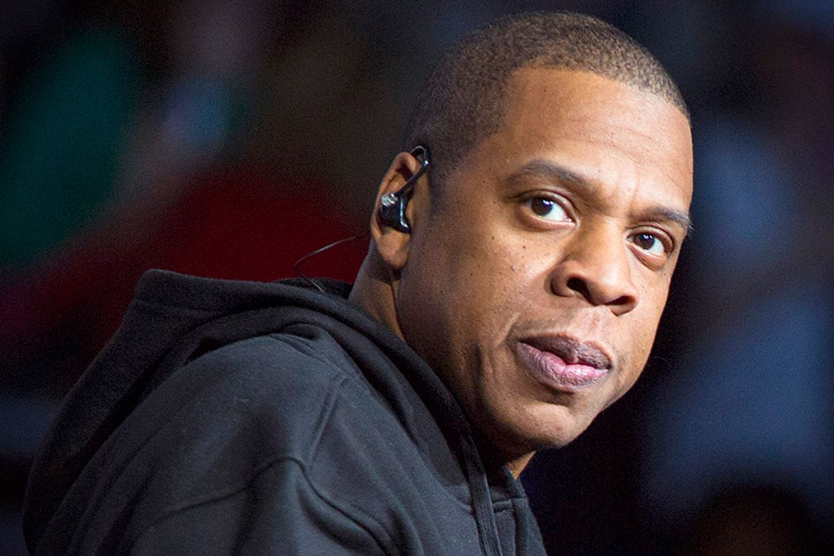 Jay Z     (AP/Barry Brecheisen)