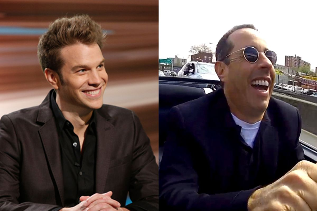 Anthony Jeselnik, Jerry Seinfeld     (Comedy Central/Tyler Golden/Comedians In Cars Getting Coffee)