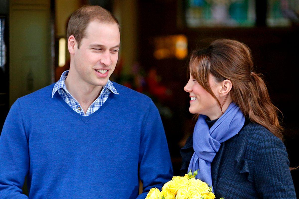 Prince William, Catherine, Duchess of Cambridge       (Reuters/Andrew Winning)