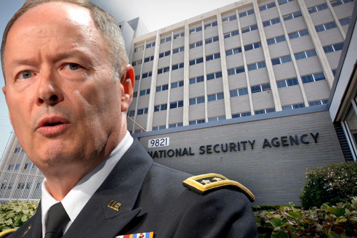 National Security Agency Director Gen. Keith Alexander              (Reuters/Doug Kapustin /AP/Charles Dharapak)