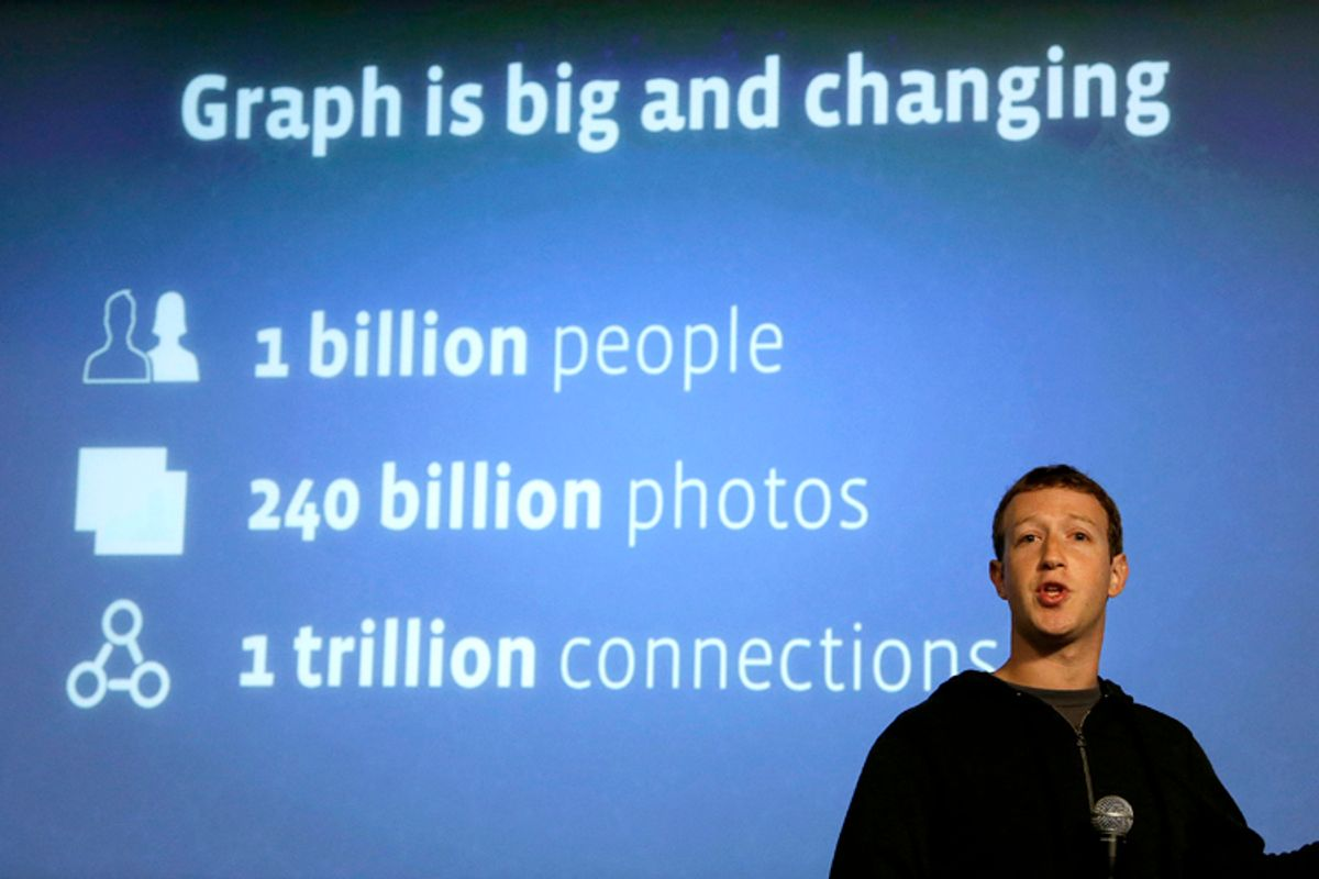 Mark Zuckerberg                  (AP/Jeff Chiu)