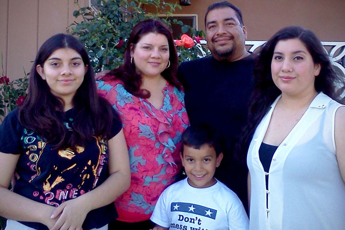 The Mata family (photo courtesy of Gisele Mata)