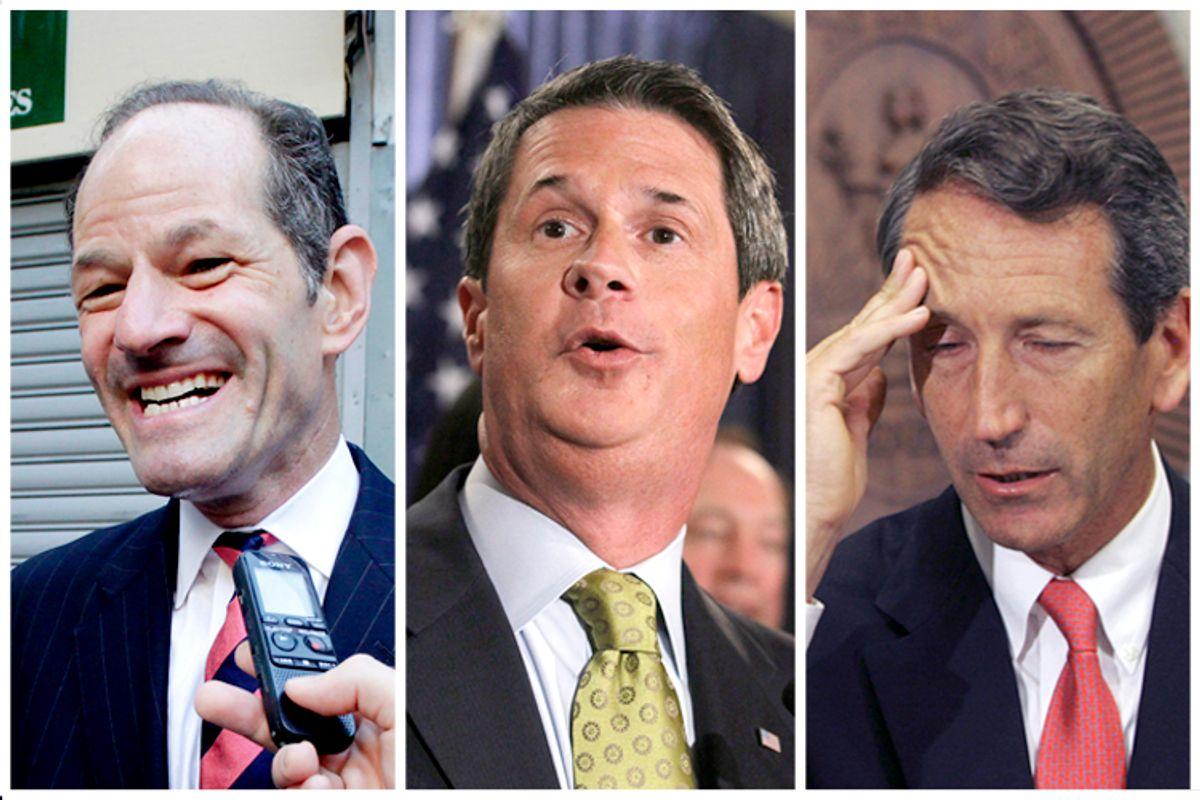 Eliot Spitzer, David Vitter, Mark Sanford          (AP/Mark Lennihan/AP/Patrick Semansky/AP/Mary Ann Chastain)