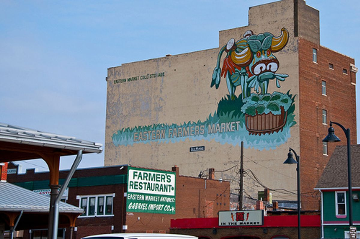 Detroit's Eastern Market (Loren Sztajer/Flickr)