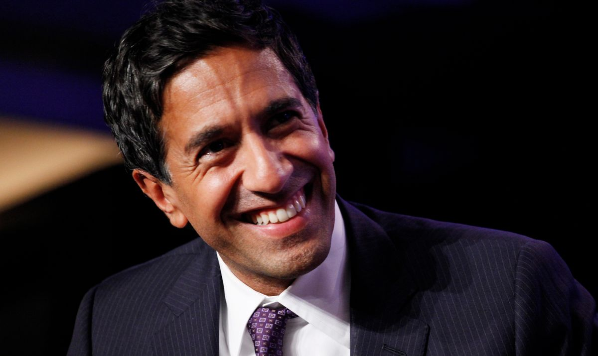 Sanjay Gupta, Chief Medical Correspondent for CNN    (Mark Lennihan)
