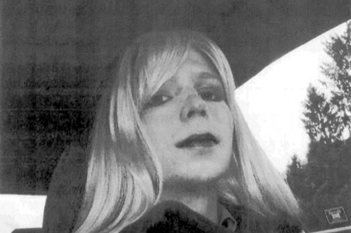 Chelsea Manning    (AP Photo/U.S. Army, File)