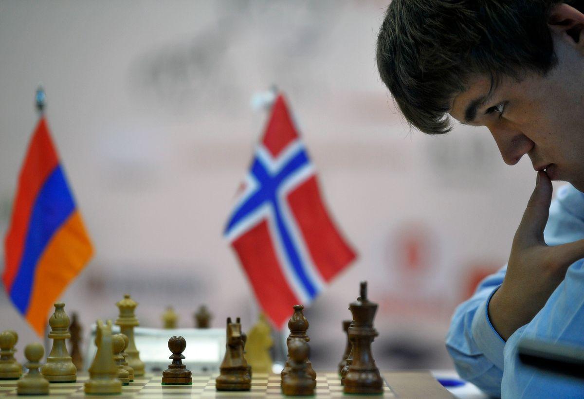 Magnus Carlsen  (AP/Alvaro Barrientos)