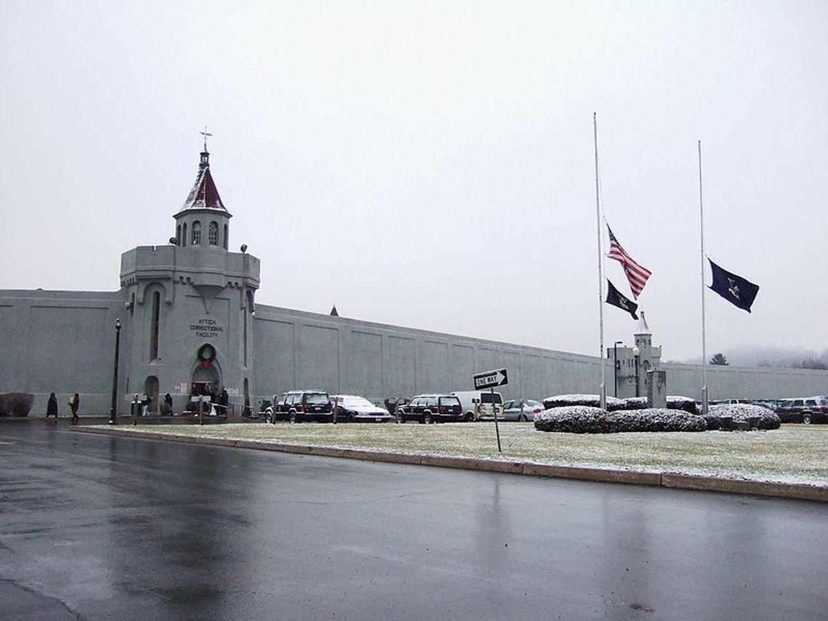 Attica Correctional Facility in New York.  (Wikimedia)