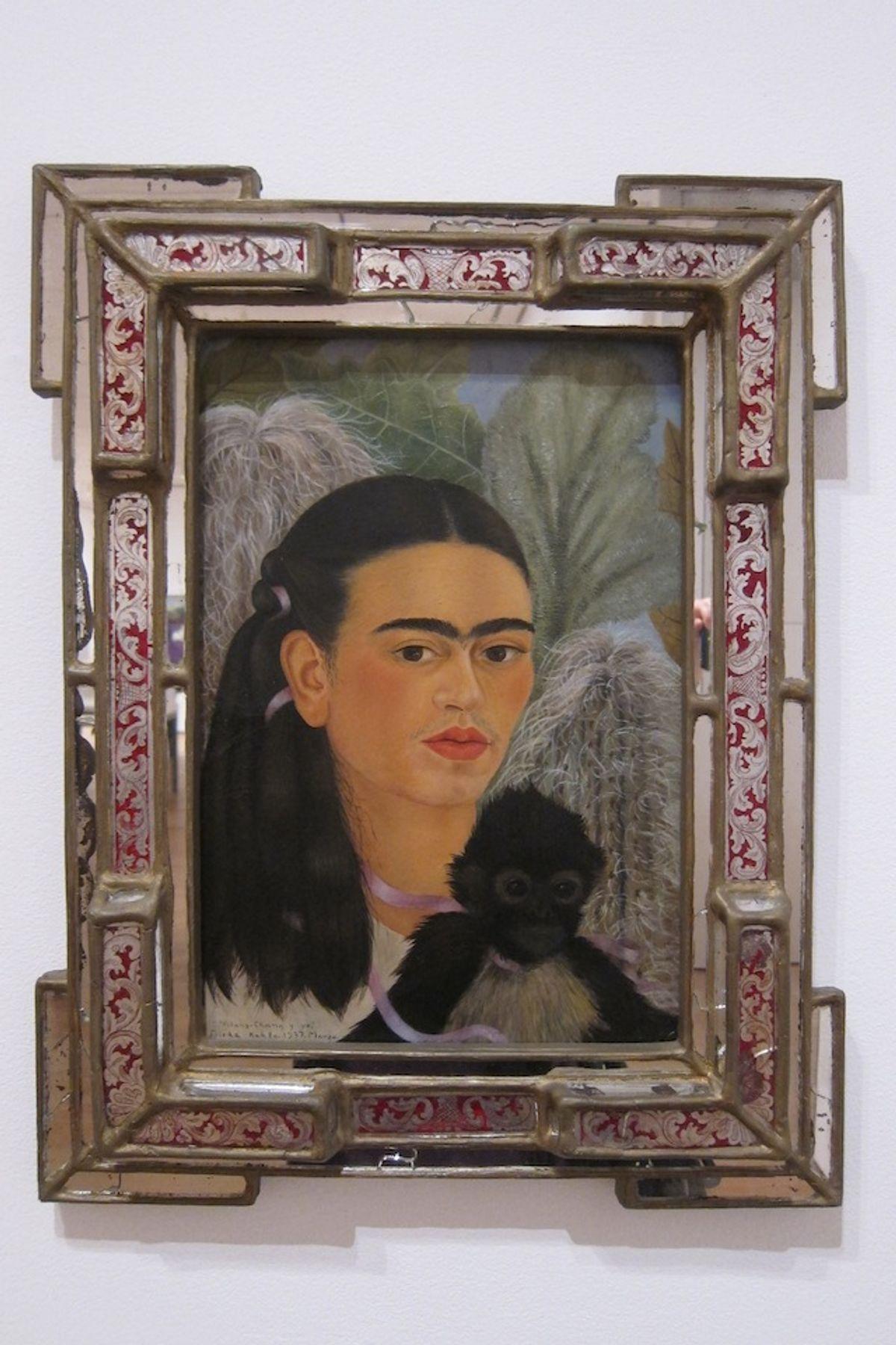"""Frida Kahlo, """"Fulang Chang and I,"""" (1937) (image via Flickr)"""