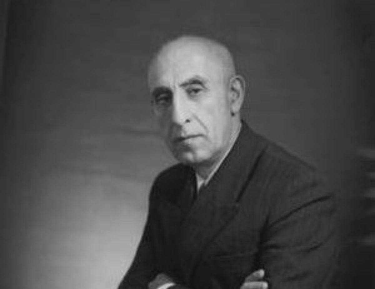 Mohammad Mosaddegh, Iranian P.M. overthrown in 1953