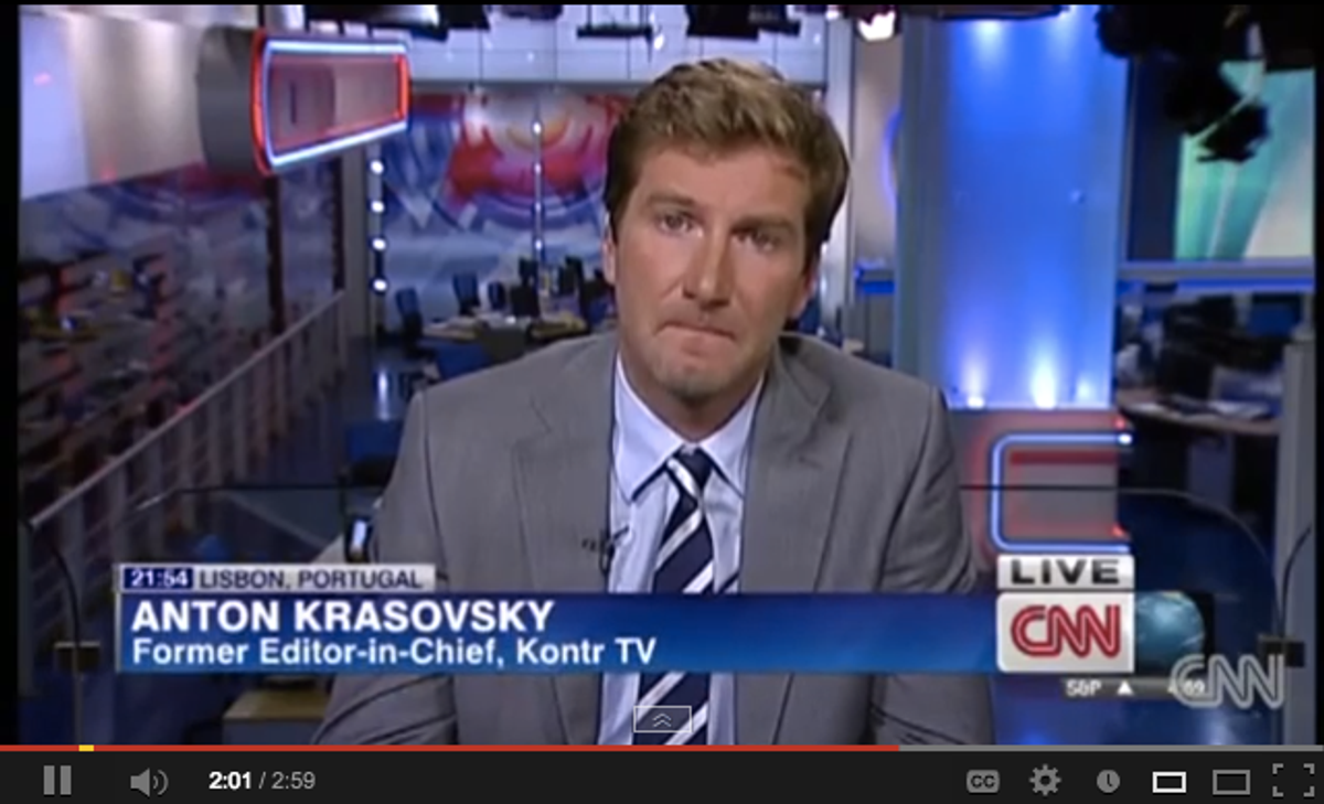 Anton Krasovsky  (CNN via YouTube)