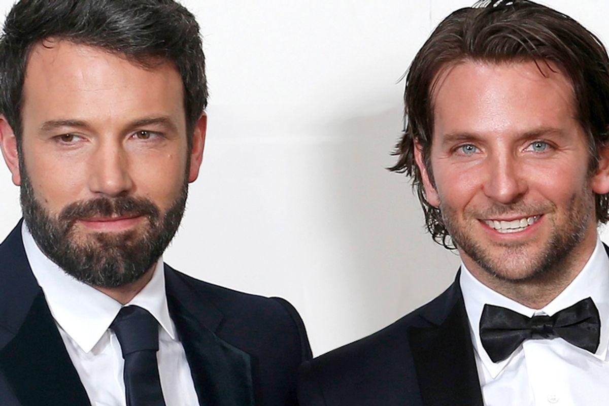 Ben Affleck, Bradley Cooper       (Reuters/Suzanne Plunkett)
