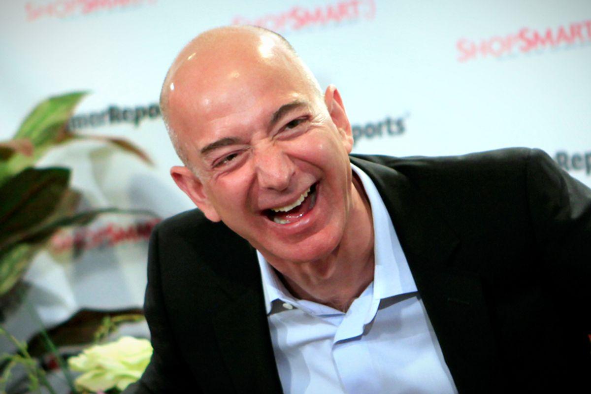 Jeffrey Bezos       (Reuters/Mike Segar)