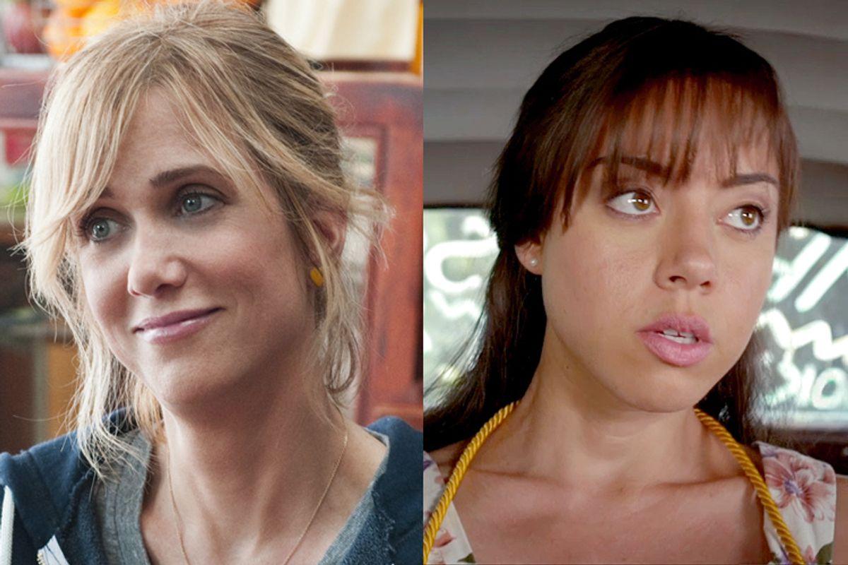 """Kristen Wiig in """"Bridesmaids,"""" Aubrey Plaza in """"The To Do List."""""""