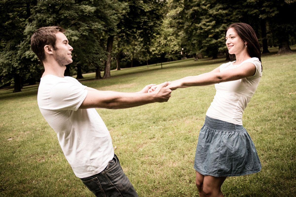 A young couple not having sex.       (<a href='http://www.shutterstock.com/gallery-134167p1.html'>Martin Novak</a> via <a href='http://www.shutterstock.com/'>Shutterstock</a>)