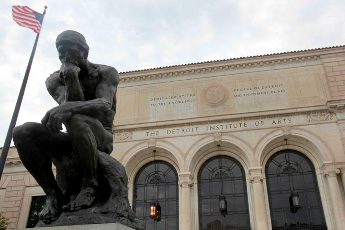 The Detroit Institute of Arts                (Reuters/Rebecca Cook)