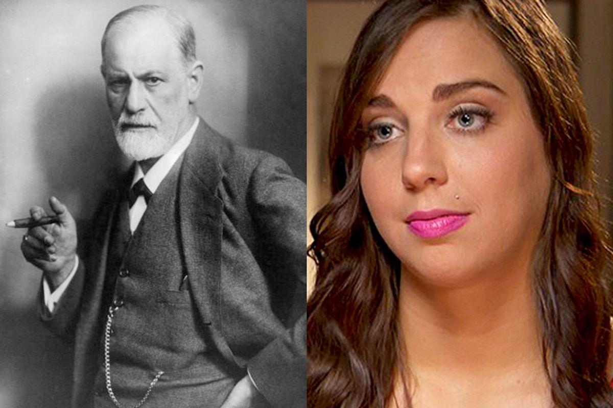 Sigmund Freud, Sydney Leathers   (Wikimedia/Reuters)