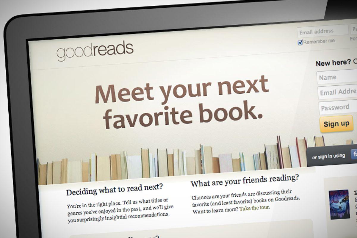 (goodreads.com/Photo collage by Salon)