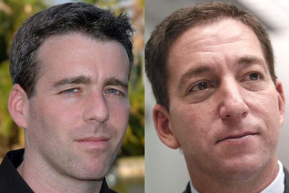 Michael Grunwald, Glenn Greenwald         (Simon & Schuster/David Whitman/AP/Kin Cheung)
