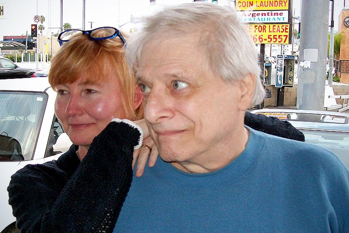 Harlan Ellison, with his wife Susan.        (Mark Barsotti)