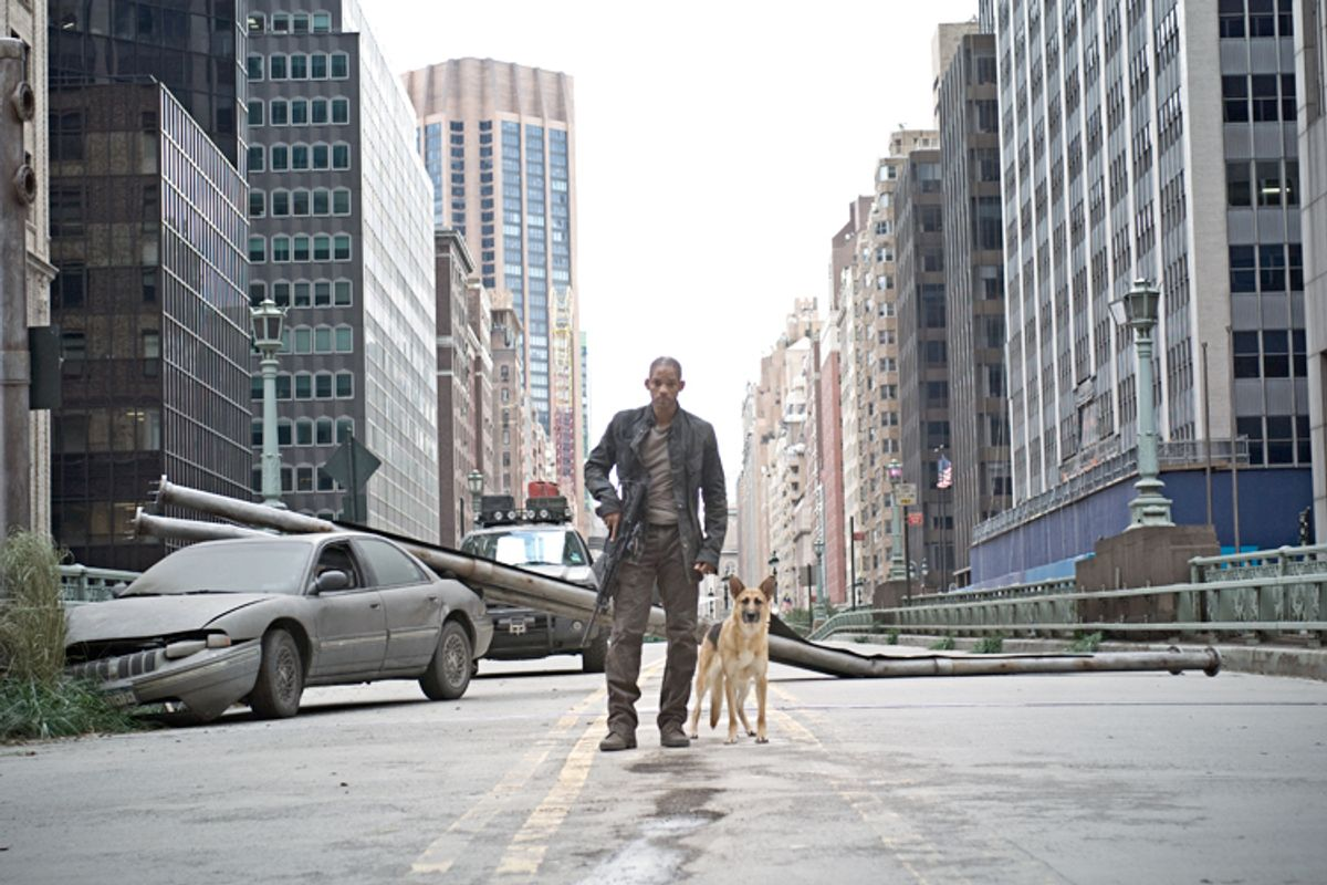 """WIll Smith in """"I Am Legend""""      (Warner Bros. Pictures)"""
