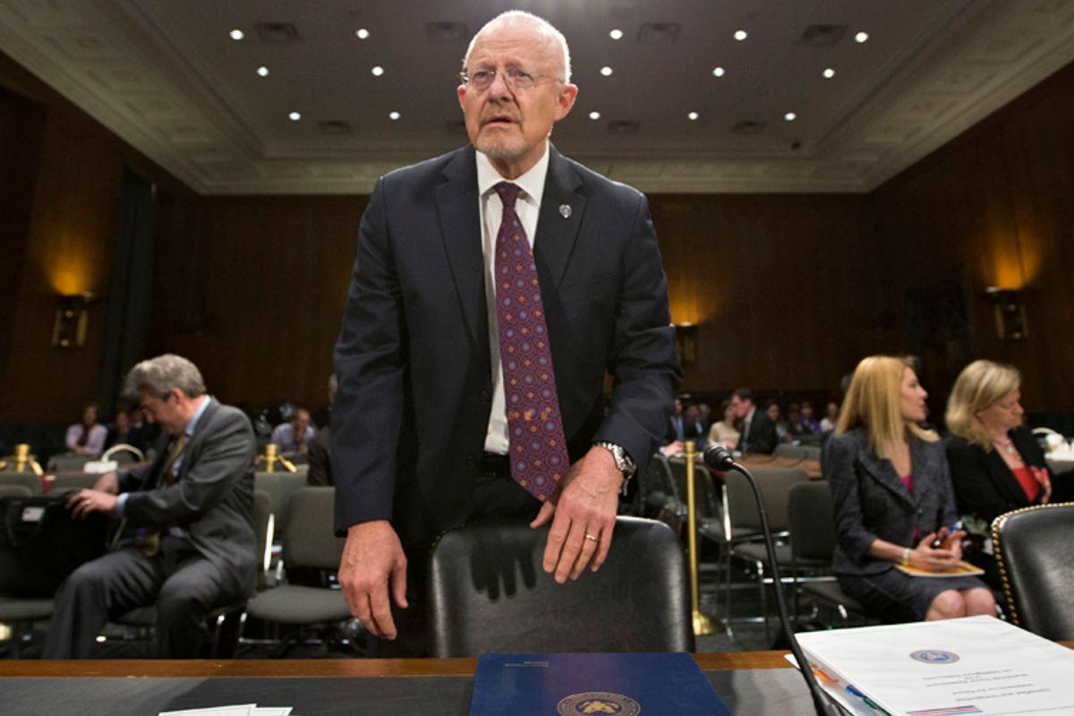 National Intelligence Director James Clapper       (AP/J. Scott Applewhite)