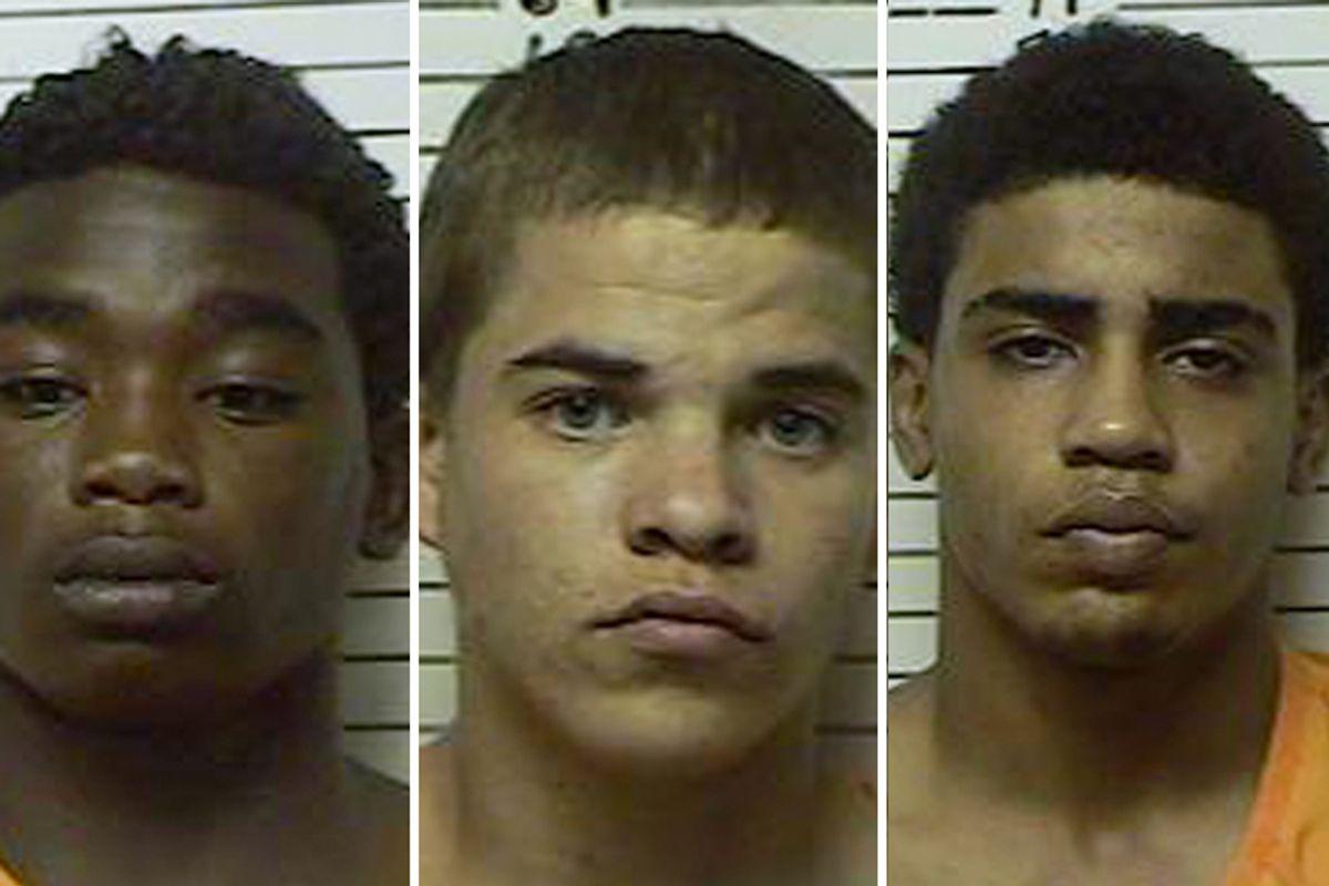 James Francis  Edwards Jr., Michael Dewayne Jones, Chancey Allen Luna     (AP/Stephens County Sheriffs Department)