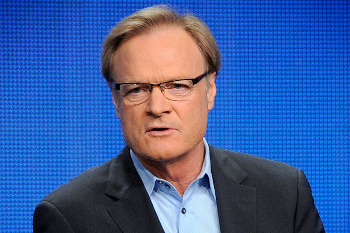 Lawrence O'Donnell       (AP/Chris Pizzello)