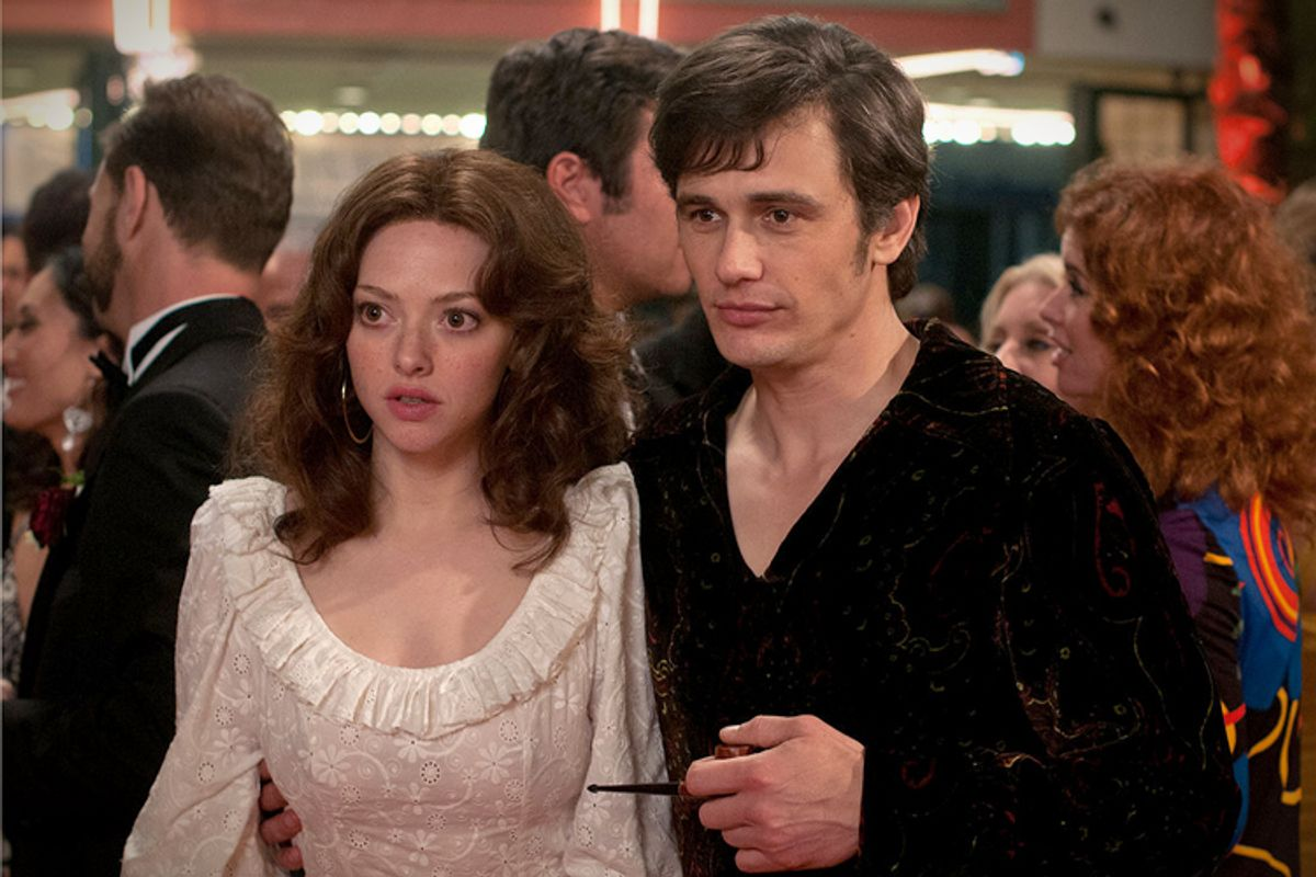 "Amanda Seyfried, James Franco in ""Lovelace"""
