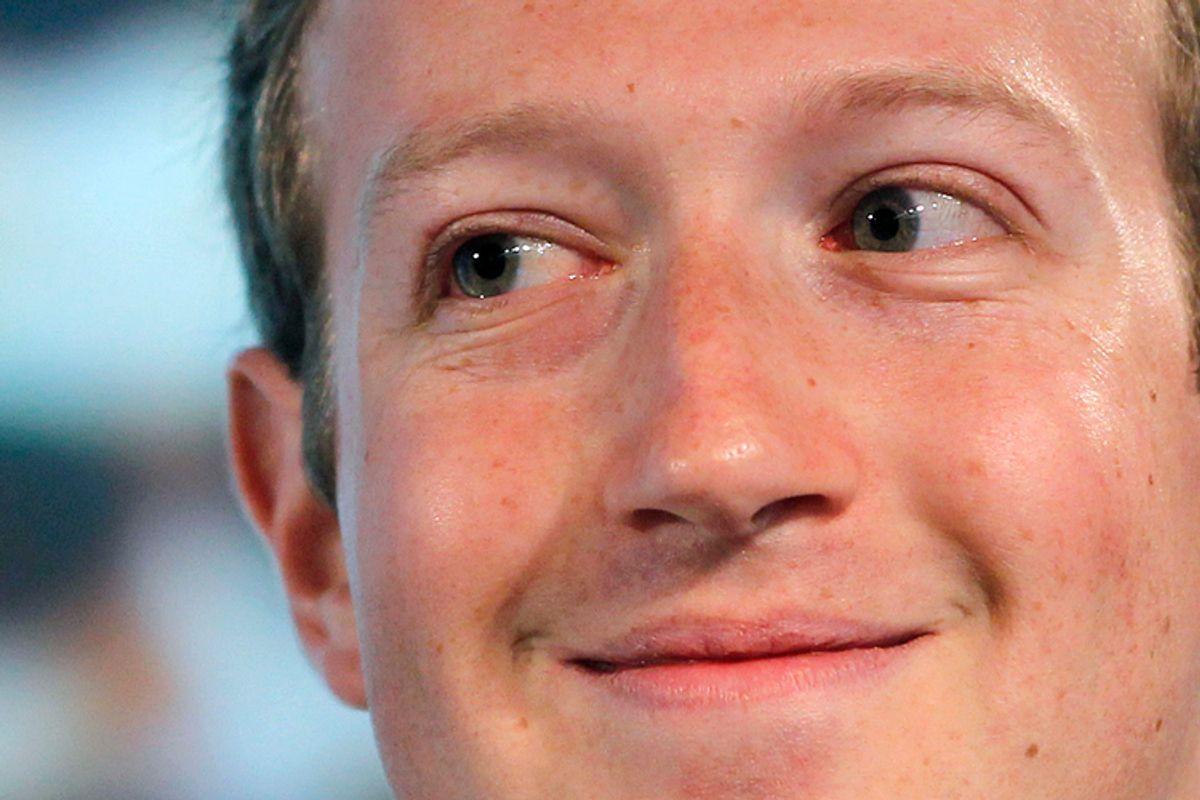 Mark Zuckerberg                 (Reuters/Robert Galbraith)